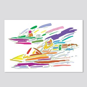 Speed Boating Postcards (Package of 8)