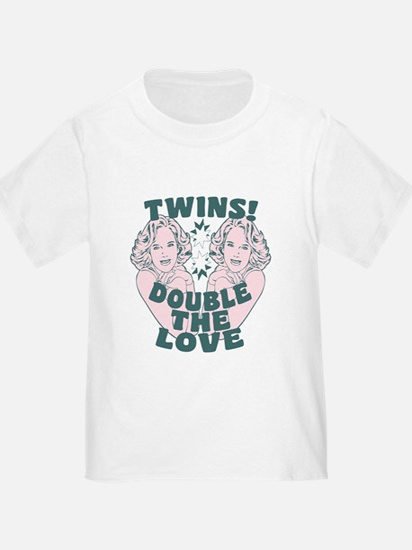 Retro Twins Love T