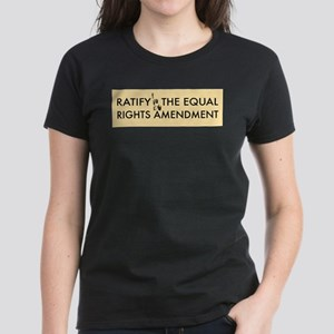 Equal Rights Amendment Women's Dark T-Shirt