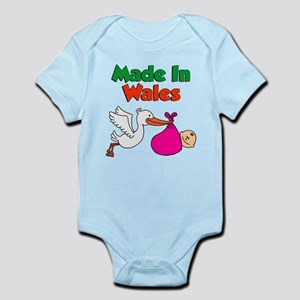 Made In Wales Girl Infant Bodysuit