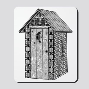 Outhouse Mousepad