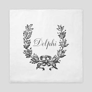 Delphi Queen Duvet