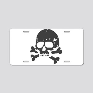 Totenkopf V Aluminum License Plate