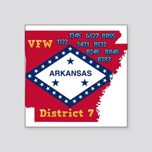 Arkansas VFW District 7 Logo Sticker