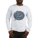 Silver Mockingjay Long Sleeve T-Shirt