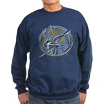 Silver Mockingjay Sweatshirt (dark)