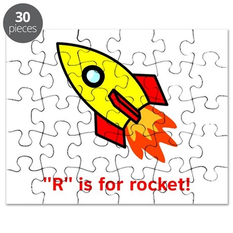 R is for Rocket Puzzle