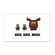 Duck Duck Moose 22x14 Wall Peel