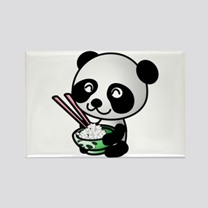 Baby Panda Rectangle Magnet (10 pack)