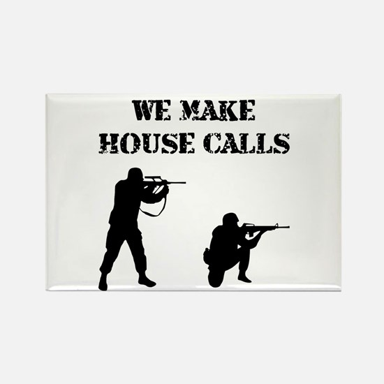 House Calls Rectangle Magnet (10 pack)
