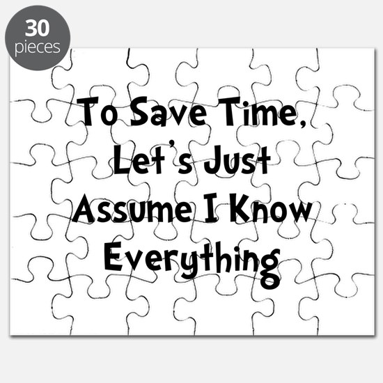 Know Everything Puzzle