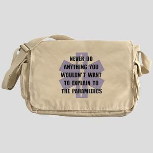 Paramedics Messenger Bag