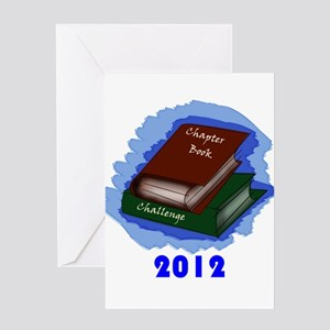 Chapter Book Challenge 2012 Greeting Card