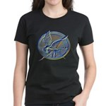 Silver Mockingjay Women's Dark T-Shirt