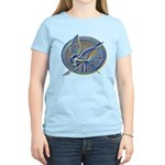 Silver Mockingjay Women's Light T-Shirt