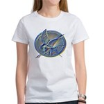Silver Mockingjay Women's T-Shirt