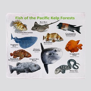 Fish of the Kelp Forests of the Pacific Ocean Sta