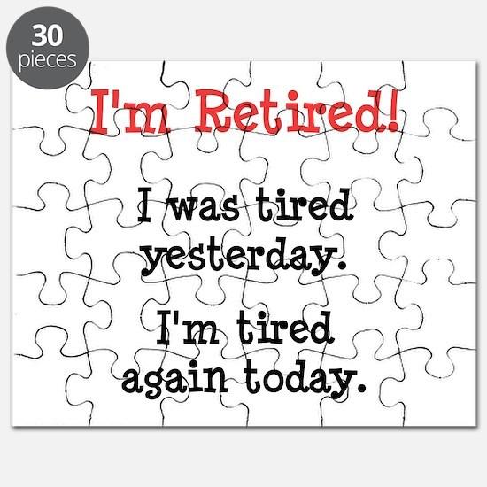 I'm Retired! Puzzle