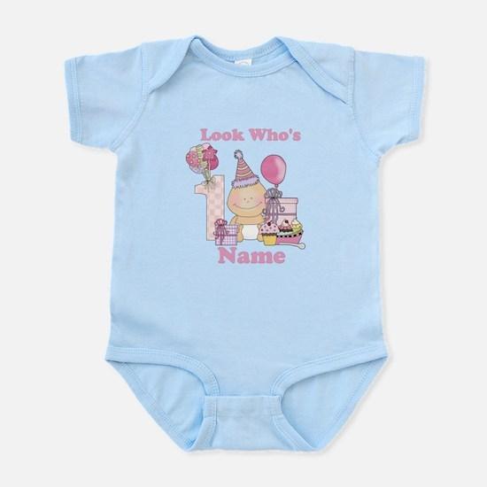 First Birthday Baby Girl Infant Bodysuit
