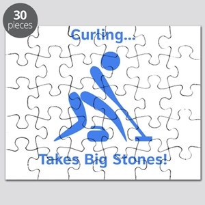 Curling Takes Big Stones! Puzzle