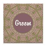 Prairie Promises - Groom - Tile Coaster