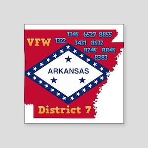 District 7 AR VFW Sticker