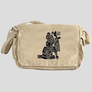 Mexican Aztec Protection Messenger Bag