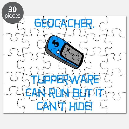 Geocacher Tupperware Puzzle
