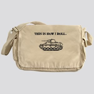 This Is How I Roll. Messenger Bag