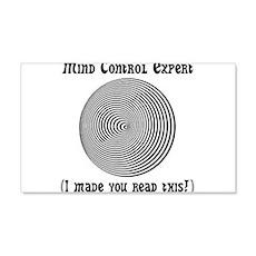 Mind Control Expert! 22x14 Wall Peel
