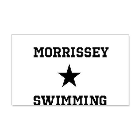 Morrissey Swimming 22x14 Wall Peel