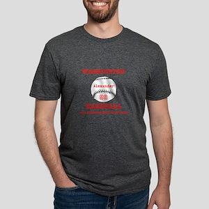 Baseball Personalized Mens Tri-blend T-Shirt