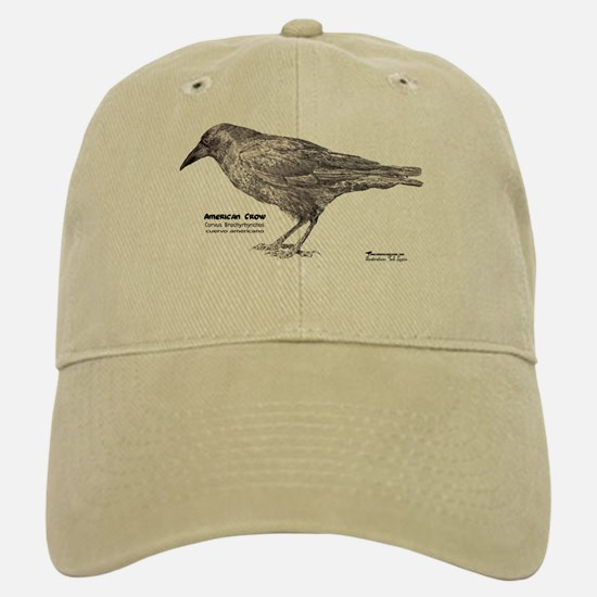 American Crow- Baseball Baseball Cap