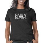 Emily Wants to Play series Women's Classic T-Shirt
