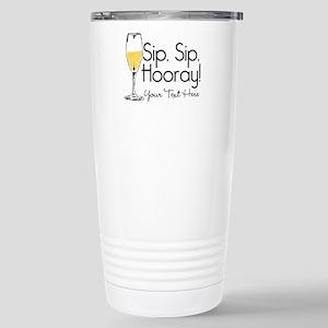 Sip Sip Hooray Pe 16 oz Stainless Steel Travel Mug