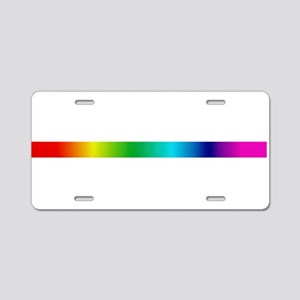 TRUE COLORS Aluminum License Plate