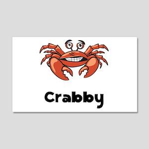 Crabby Crab 22x14 Wall Peel