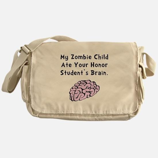 Zombie Child Messenger Bag