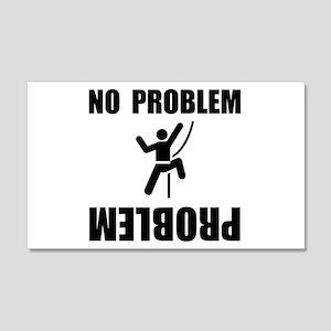 Climbing Problem 22x14 Wall Peel