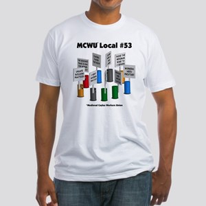 Medieval Caylus Workers Union Fitted T-Shirt