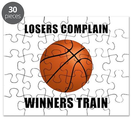 Basketball Winners Train Puzzle