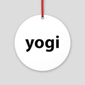 Yogi Ornament (Round)