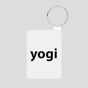 Yogi Aluminum Photo Keychain