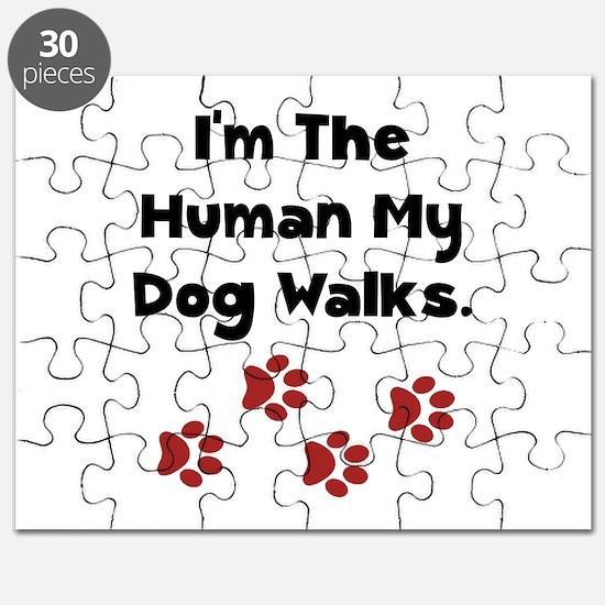 Human Dog Walks Puzzle