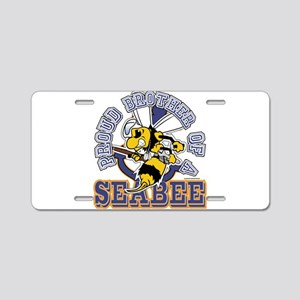 SeaBee Brother Aluminum License Plate