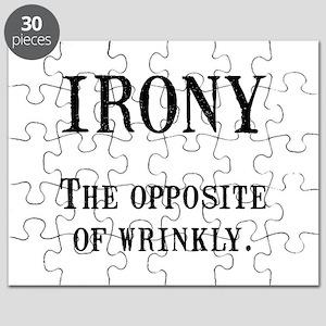 Irony Puzzle