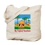 Tropical Vacations Tote Bag