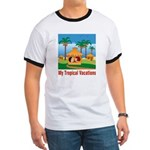 Tropical Vacations Ringer T