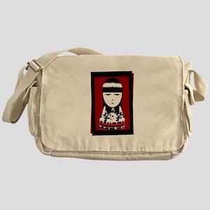 Goth Girl Messenger Bag