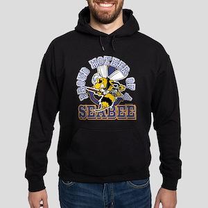 SeaBee Mother t-shirt Hoodie (dark)